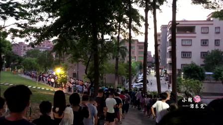 广东东莞:实拍虎门镇开始第二次核酸检测,30分钟做完这效率真高