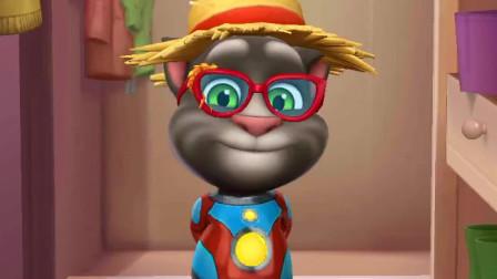 我的汤姆猫-还是骑士帽子好看