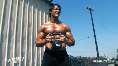 Greg Plitt 235 - 户外训练健身励志
