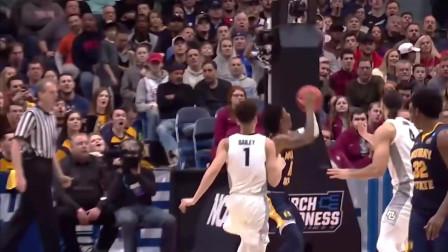 NBA的控卫之神!来看看莫兰特大学时期疯狂表现!