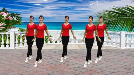 流行步子舞《宝贝你最美》简单易学32步,跟着就会跳