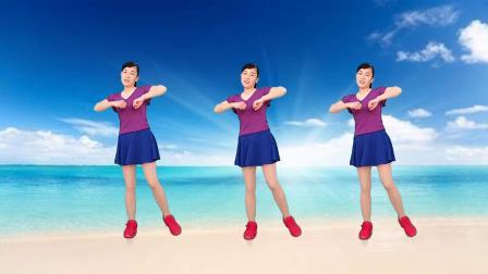玫香广场舞原创《梦草原》歌声嘹亮大气豪迈,32步附教学