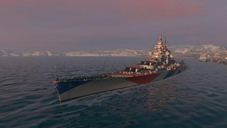 【战舰世界欧战天空】第1450期 勃艮第的开大攻势