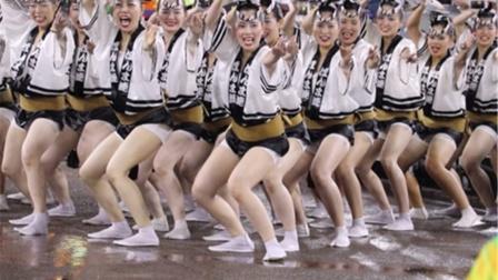 日本女孩街头表演,看完已经对日本女人失望至极,镜头记录全程