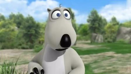 贝肯熊:草丛里突然冲出一只野猪,贝肯转身就跑