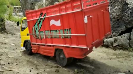 趣味益智玩具 彩色卡车去工地