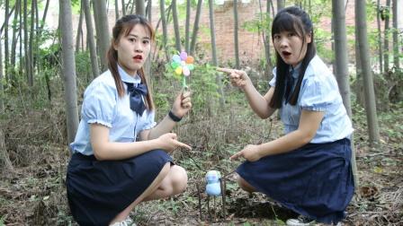 消失2:王小九找到小白发现她变成小人,需要七色粘土花才能解救