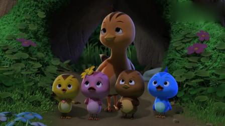 萌鸡小队:萤火虫会发光,萌鸡懵了,会发光的不一定是星星
