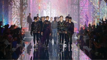 #DolceGabbana# 杜嘉班纳2022春夏男装秀#DGLightTherapy# 发布秀完整视频