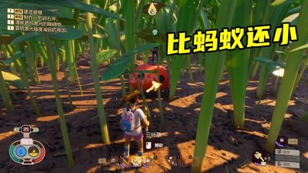禁闭求生02:野草丛林探险,多米暗墨被巨型蚂蚁咬死