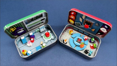 自制创意盒装玩具,可以随身携带!