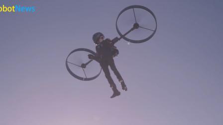 电动背包直升机CopterPack