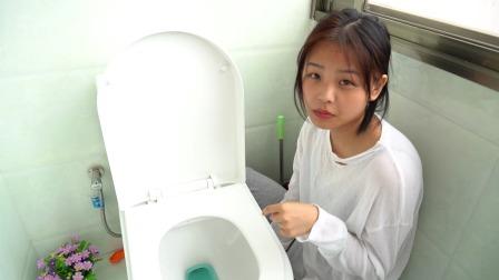 这个小熊洁厕宝太可爱了,自从有了它卫生间一直是香香的,好用