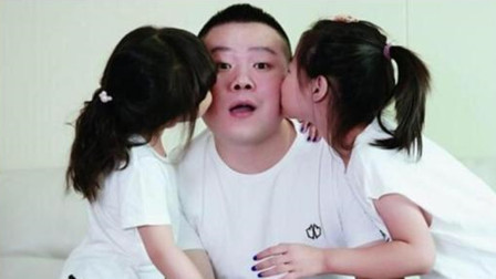 岳云鹏晒女儿送的父亲节礼物 直呼:老泪纵横的老父亲