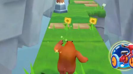 熊出没之丛林冒险-机关障碍是挺多,但是挡不住的