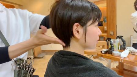"""越来越多妹子选择""""挂耳短发"""",剪超短就是不一样,时尚气质翻倍"""