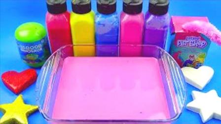 魔法染料盘创意新玩法,早教启蒙萌宝益智认识颜色分享礼物啦!
