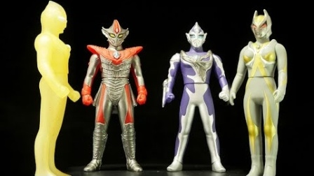 K2介紹超級怪獸繫列之俊敏戰士修託拉與剛力戰士達勒姆軟膠公仔