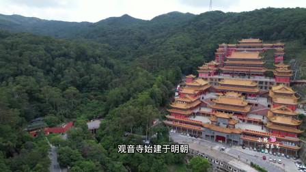 """广东最壮观的寺庙,历时八年重建金碧辉煌,号称东莞""""小故宫"""""""