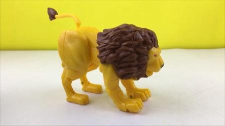 咖宝车神变新玩具,狮王凯恩拆箱试玩