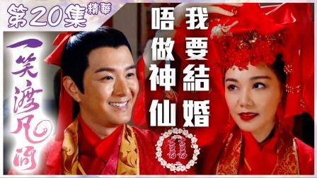 【一笑渡凡間】第20集精華 唔做神仙 我要結婚