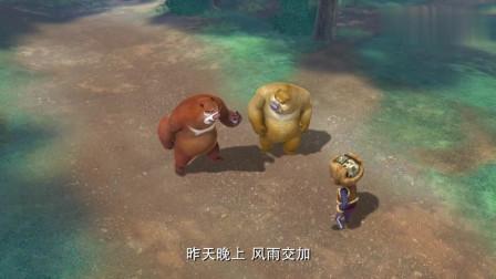 熊出没:肥波因为误食变异种子,变成了大怪物,还要吃掉光头强!