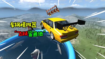 """阿涵说:""""车祸模拟器""""用赛车穿过鲨鱼池,在越向大摆锤! 真疯狂"""