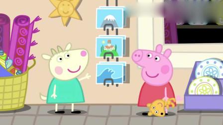 小猪佩奇:迷糊的猪爸爸,一大早就跳进泳池里,弄成个落汤猪了
