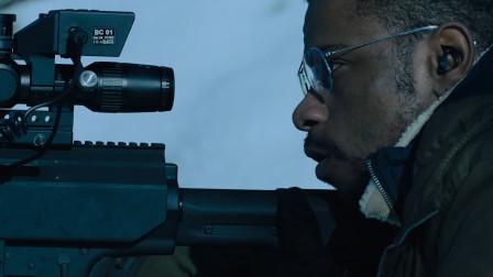 巴雷特装上透视黑科技有多强,就算躲到屋内照样穿墙狙杀,动作片