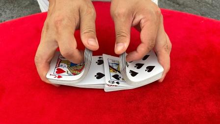 教你如何做到洗牌不乱,很简单,学会骗朋友玩