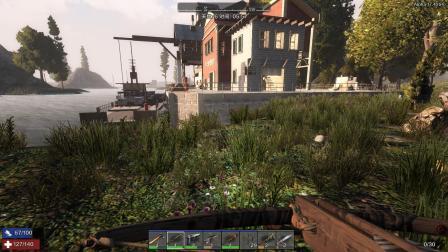 僵尸家族《无人小镇》55,攻打船舶码头的房屋
