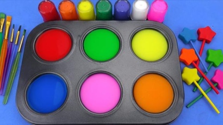趣味亲子魔法染料盘魔力72变,早教启蒙萌宝给棒棒糖着色识颜色