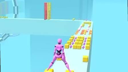 趣味小游戏:方块厉害,又滑又腻