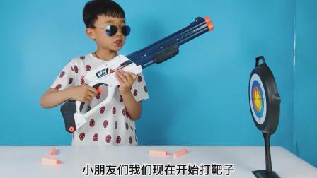 玩具开箱,小泽的新玩具是双管来福枪,很好玩