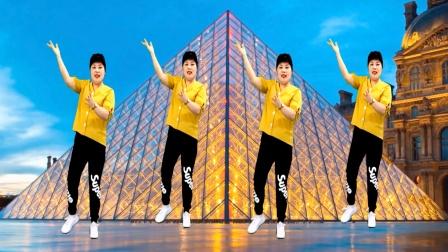 32步广场舞《等你归航》旋律优美 舞步简单又好看