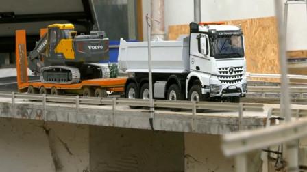 趣味益智玩具 工程车卡车运输挖掘机