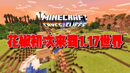 我的世界1.17生存1:花椒初次来到1.17世界!