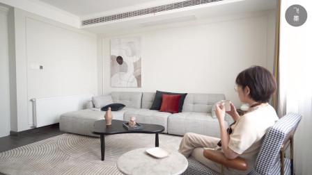 夫妻二人花21万装修200㎡大平层,户型方正南北通透,当养老房住
