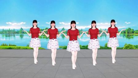 广场舞《云贵山歌》网红热舞32步,附背面示范