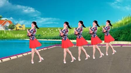 广场舞《一朵情花开》64步,美美的民族风,附教学