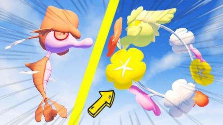 我的世界精灵宝可梦111:百变怪蛋孵化出花疗环环和垃垃藻!