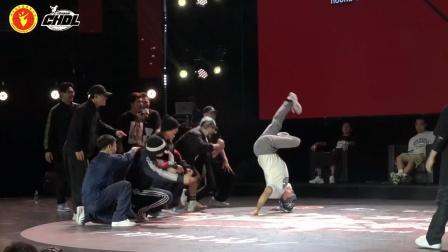 中国街舞联赛郑州站团队半决赛bboy浩然HR