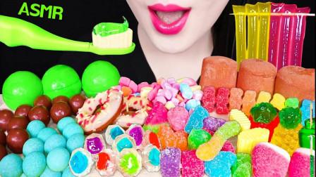 吃货:开吃果冻、麦丽素等,味道好吃不腻