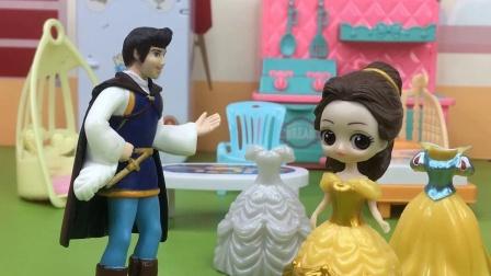 贝尔想要太多东西,被王子变成了巫婆