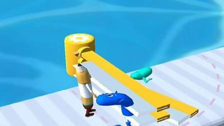小游戏:路上好多刀子,你能躲开吗