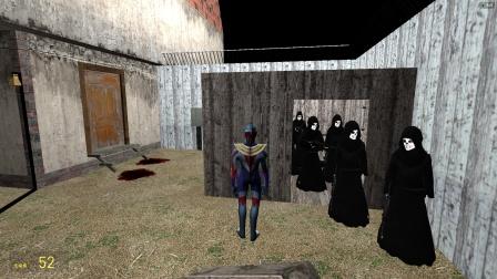 一群人在密室的小房子,欧布过去会怎么样?