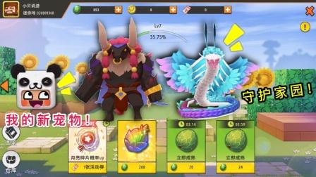 迷你世界:国王送家园宠物,小表弟选了牛魔王,大表哥选了羽蛇神