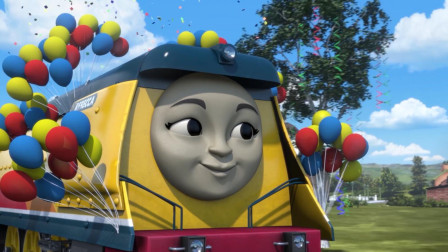 托马斯和朋友一起唱歌 派对火车头