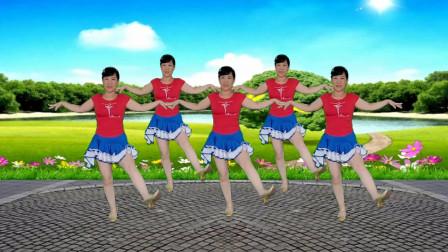 郴州冬菊广场舞【爱的暴风雨】简单时尚优雅恰恰风格舞附分解