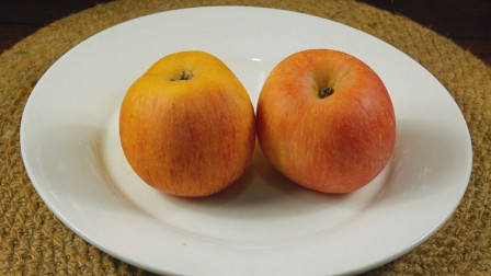 苹果不爱吃,试试这种做法,口感软糯香甜,一次做8个不够吃